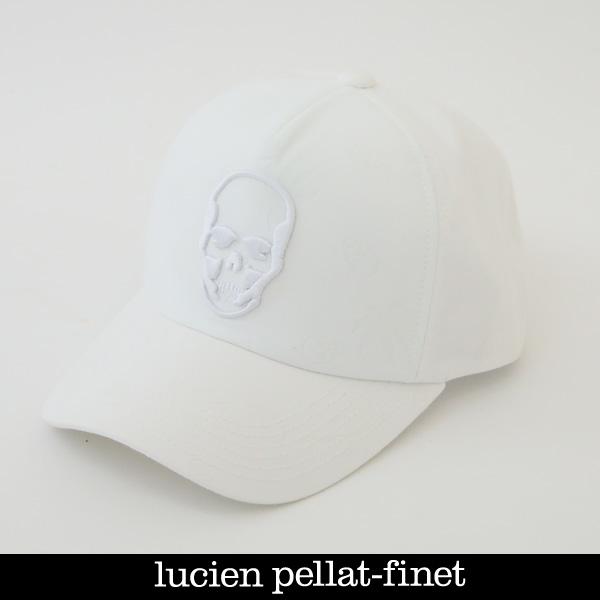 lucien pellat-finet ルシアンペラフィネ キャップホワイトCAP97