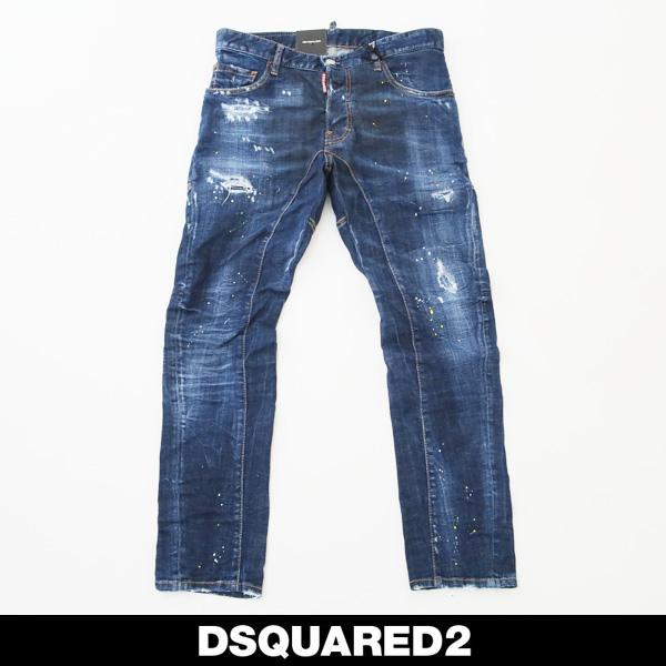 DSQUARED2(ディースクエアード)ダメージジーンズTIDY BIKER JEANS71LB0625
