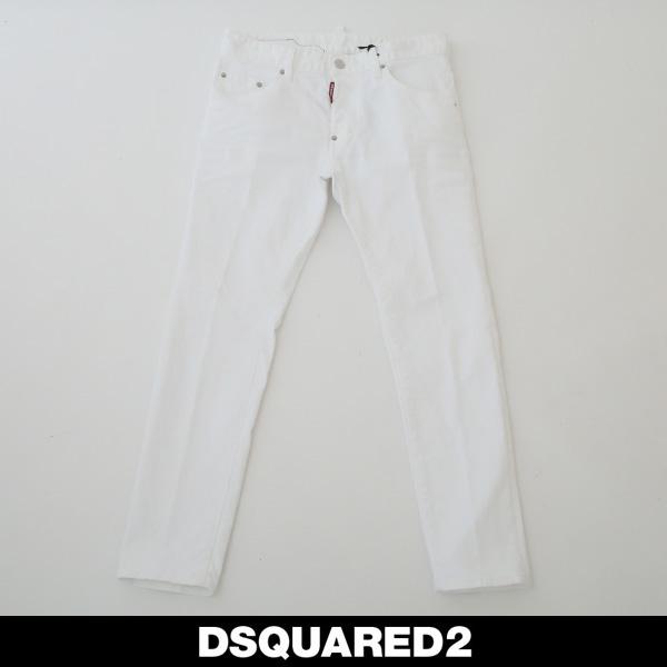 DSQUARED2(ディースクエアード)スケータージーンズ/SKATER JEANホワイトS71LB0595