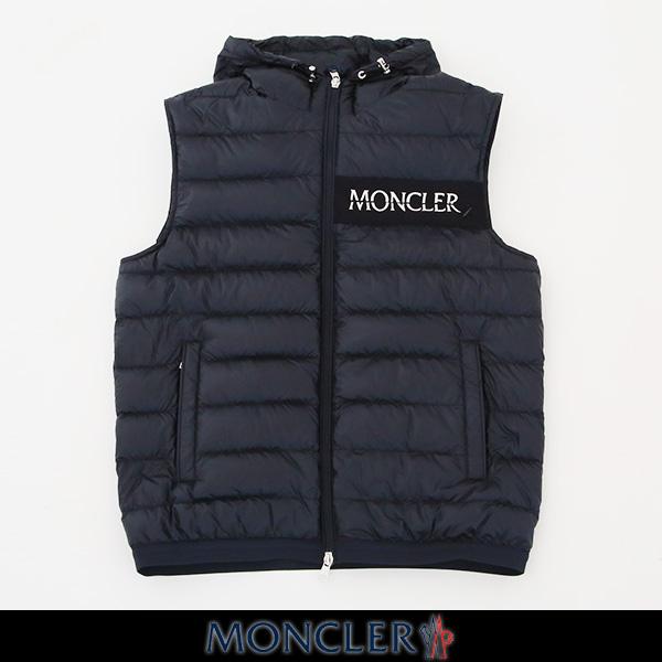 MONCLER(モンクレール)【メンズウェア】ダウンベスト【ネイビー】LARUNS