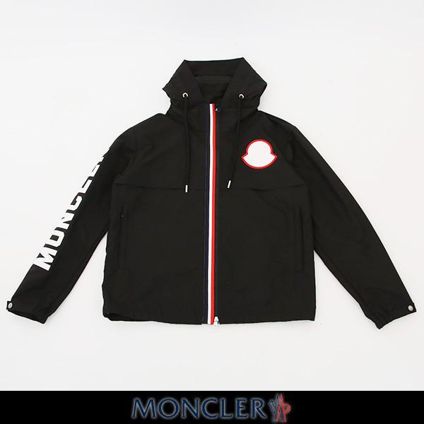 MONCLER(モンクレール)【メンズウェア】ナイロンブルゾンブラックMONTREAL