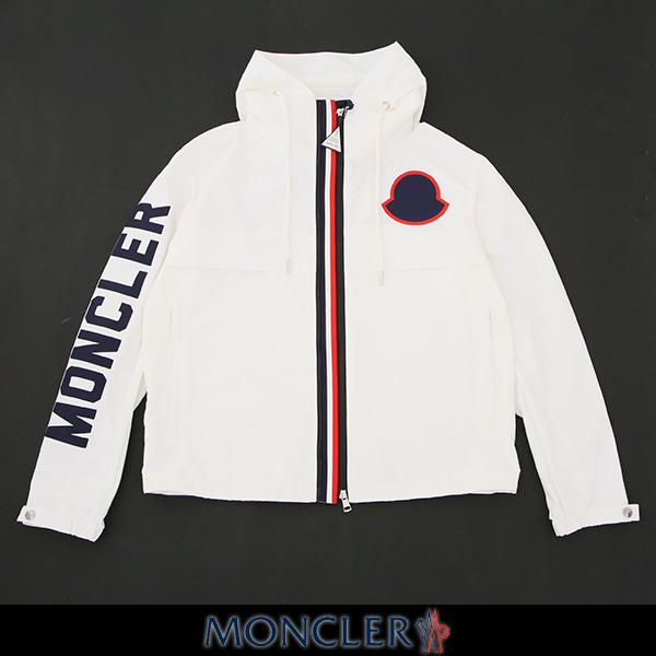 MONCLER(モンクレール)【メンズウェア】ナイロンブルゾンホワイトMONTREAL