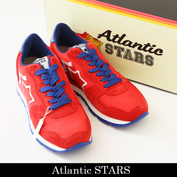 Atlantic STARS(アトランティックスターズ)スニーカーレッドANTARES RBR 14R ROSSO R214