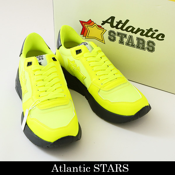 Atlantic STARS(アトランティックスターズ)スニーカーイエローMARS GF-SN13 GIALLO FLUO G1938/A01
