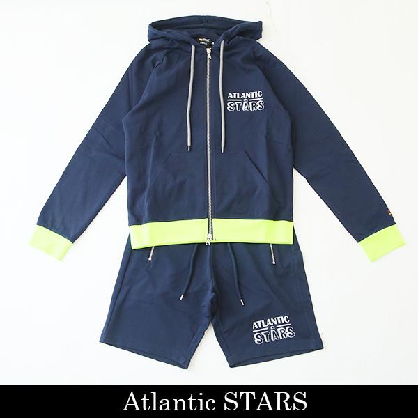 Atlantic STARS(アトランティックスターズ)セットアップネイビーAMS1906/AMS1905