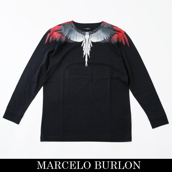 MARCELO BURLON(マルセロブロン,マルセロバーロン)【メンズウェア】ロングTシャツ長袖TシャツCMAB007R190010181020