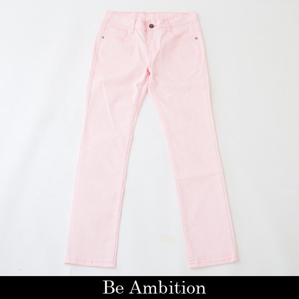 ファッション通販 Be Ambition ビーアンビション 『1年保証』 P デニムパンツピンクD29103