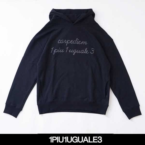 1PIU1UGUALE3(ウノピゥウノウグァーレトレ)パーカーMRB402/COT269