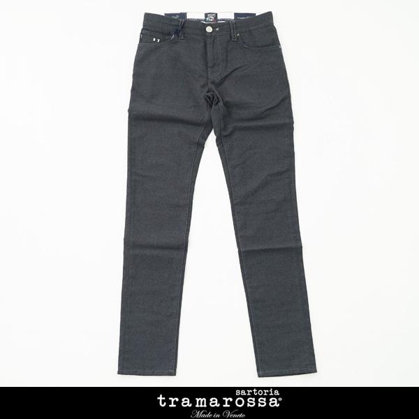 tramarossa(トラマロッサ)ストレッチ素材ウールパンツチャコールグレー21UB50001W
