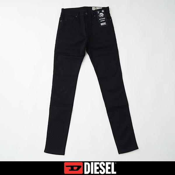 DIESEL(ディーゼル)ストレッチ素材ジーンズ,デニムブラック00SMZS 0069EF(D-ISOTORT)