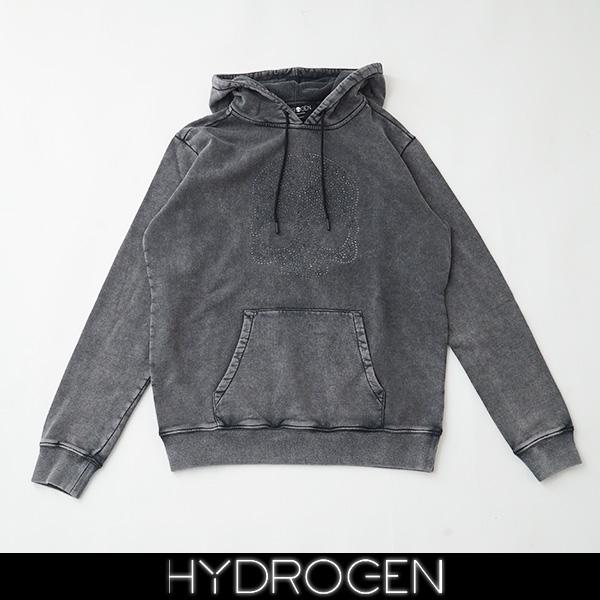 HYDROGEN(ハイドロゲン)パーカーチャコールグレー250106