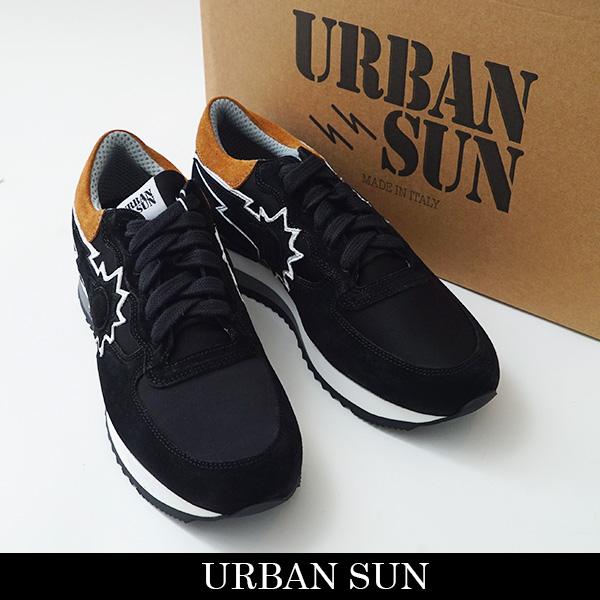 URBAN SUN(アーバンサン)スニーカーブラックVINCENT 500