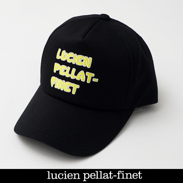 lucien pellat-finet ルシアンペラフィネ キャップブラック×イエローCAP140(213 19906)
