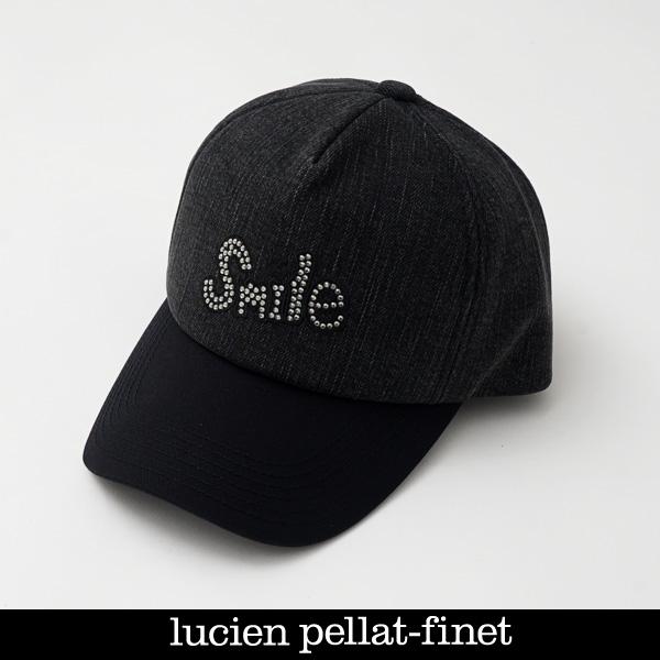 lucien キャップブラック系CAP138(213 ルシアンペラフィネ pellat-finet 19904)
