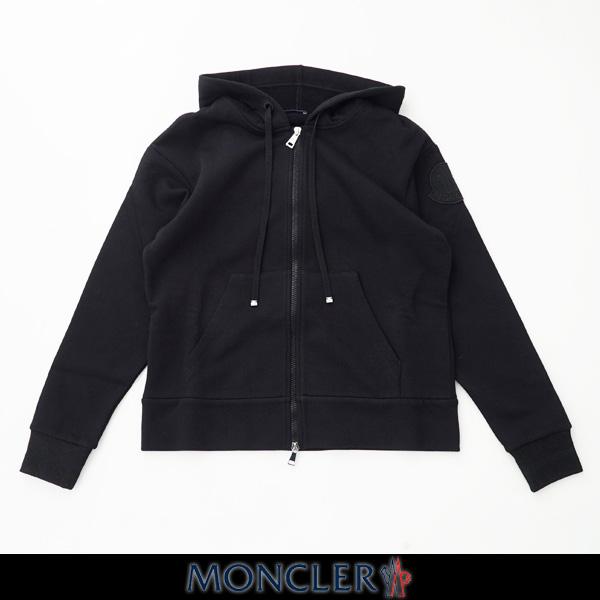 MONCLER(モンクレール)レディースダブルジップアップパーカーブラックF1 093 8G70300 8101