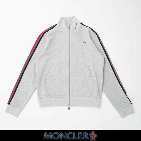 MONCLER(モンクレール)メンズウェアダブルジップアップトラックジャケットグレーF1 091 8G75300 8098U 910