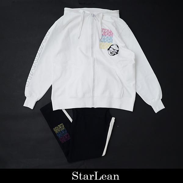 StarLean(スターリアン)セットアップホワイト/ブラックSLSU001