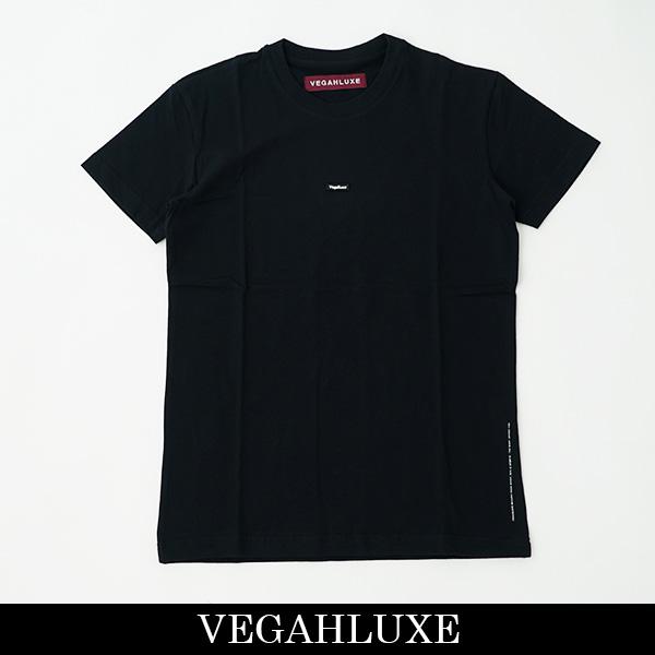 VEGAHLUXE(ヴェガ リュックス)ONE POINT ROCK S/S TEE半袖TシャツブラックVXT006 CT02