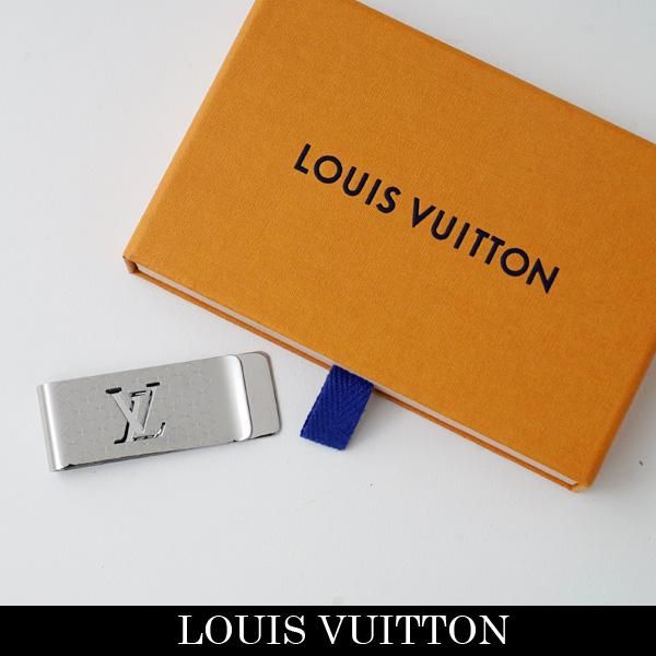 LOUIS VUITTON(ルイヴィトン)マネークリップシルバーM65041(パンス・ビエ・シャンゼリゼ)