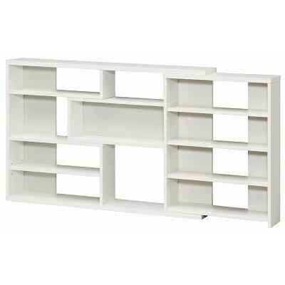 【shelfit】カウンター下収納【窓下収納 本棚】 ECラック スリム ECR8012S WH/ホワイト