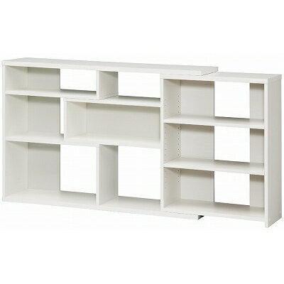【shelfit】カウンター下収納【窓下収納 本棚】 ECラック レギュラー ECR8012R WH/ホワイト