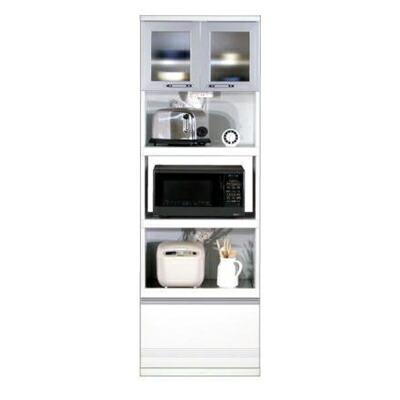 食器棚 エトワール60 キッチンボード WHT(ホワイト)