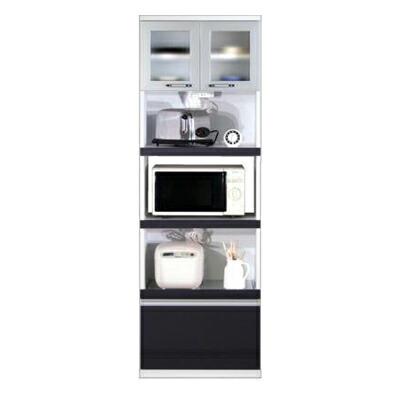 食器棚 エトワール60 キッチンボード BR(ブラウン)