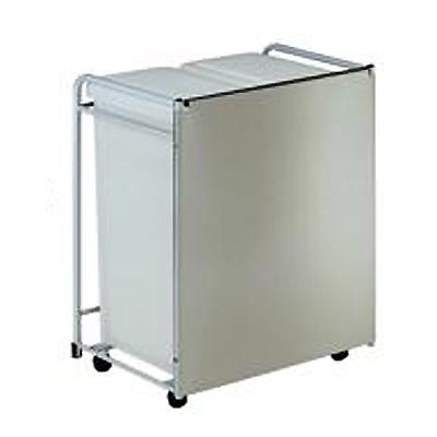 【食器棚】【キッチン収納】【ダストボックス・ゴミ箱】【綾野製作所】ダストボックスワゴン WS-51W