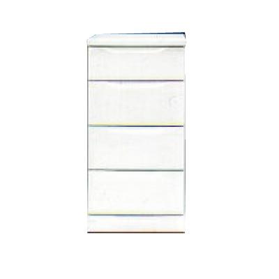 【チェスト】ベスト45-4 ホワイト/白/整理タンス/衣類収納