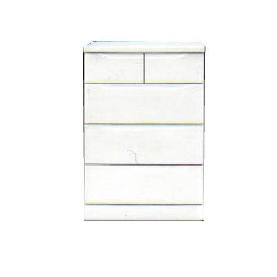 【チェスト】ベスト60-4 ホワイト/白/整理タンス/衣類収納