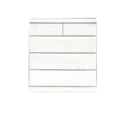 【チェスト】ベスト80-4 ホワイト/白/整理タンス/衣類収納