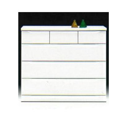 【チェスト】ベスト100-4 ホワイト/白/整理タンス/衣類収納