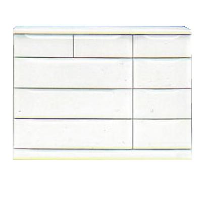 【チェスト】ベスト120-4 ホワイト/白/整理タンス/衣類収納