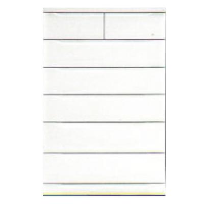 【チェスト】ベスト80-6 ホワイト/白/整理タンス/衣類収納
