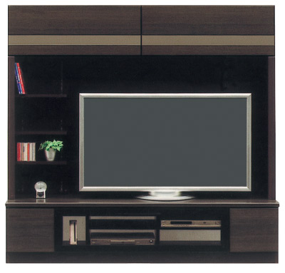 アズ180テレビボード/ダーク/壁面収納
