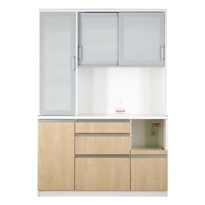 食器棚 カリノ 140 DOP シカモア【キッチン収納】【高橋木工】