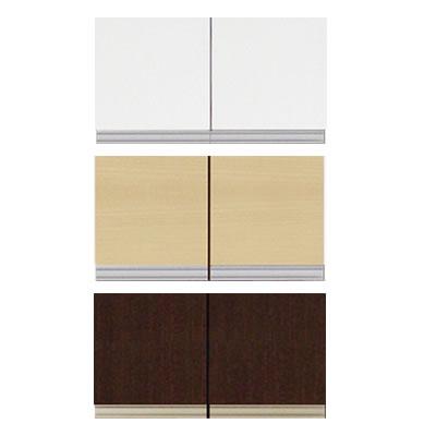 食器棚 ファリーナ 60T 上置き 高さ23~39cm【キッチン収納】【高橋木工】