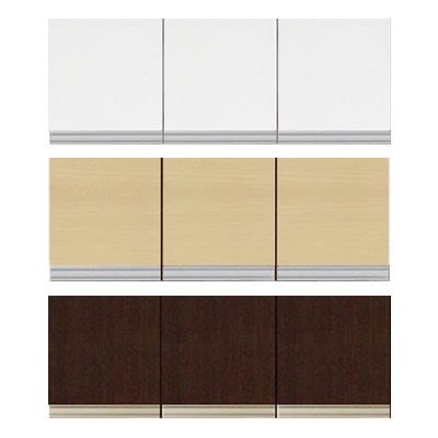 食器棚 ファリーナ 90T 上置き 高さ40~59cm【キッチン収納】【高橋木工】