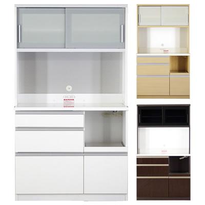 食器棚 ファリーナ 100LW オープン【キッチン収納】【高橋木工】