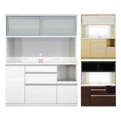 食器棚 ファリーナ 140LW オープン【キッチン収納】【高橋木工】