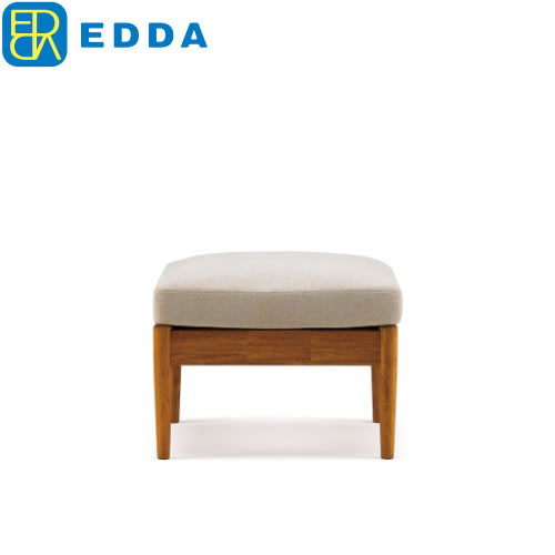 オットマン  EDDA L0303101Q-EL0E2【北欧デザイン】【オイル仕上げ】【コンパクト】