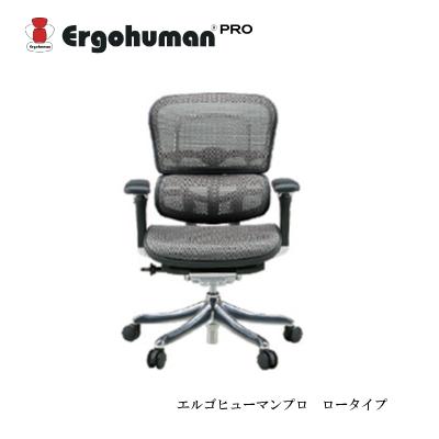 デスクチェア エルゴヒューマンプロ EHP-LAM ロータイプ【リクライニング 高機能 メッシュチェアー 高機能】