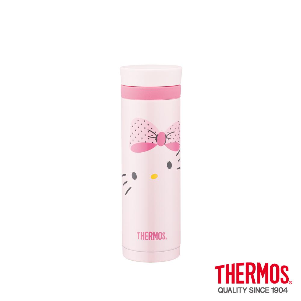 【送料無料】サーモス社ボトルハローキティ(Hello Kitty)Pinkリボン300ml