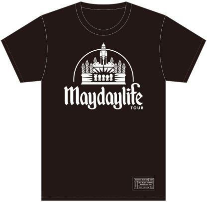 五月天Mayday(メイデイ)[五月天LIFE]人生無限城堡オフィシャル黒/白2種類TシャツGS/GM/S/M/L/XL