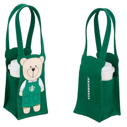 Starbucks Taiwan bearista togo bag