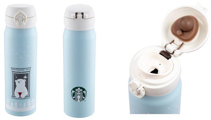 ★2019ホリデーシーズン★台湾スターバックスstarbucks coffee白くまの祝福サーモスステンレスタンブラー600ml