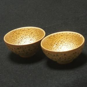 茶器 金杯(2個セット) 陶器 made in Taiwan