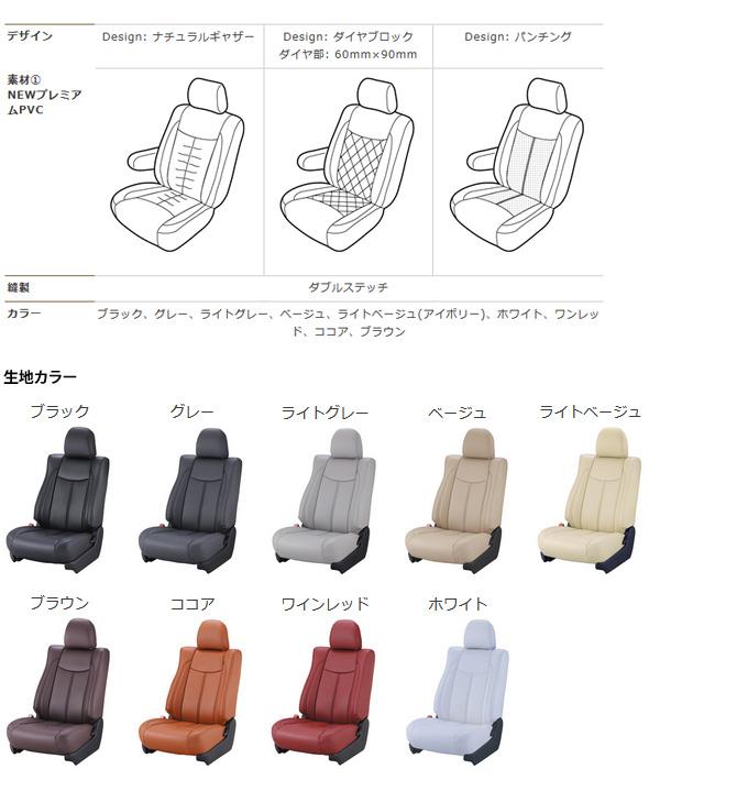 【ベレッツァ Bellezza】MRワゴン (4人乗) 等にお勧め Newプレミアムシートカバー/PVC 型式等:MF21S 品番:S668