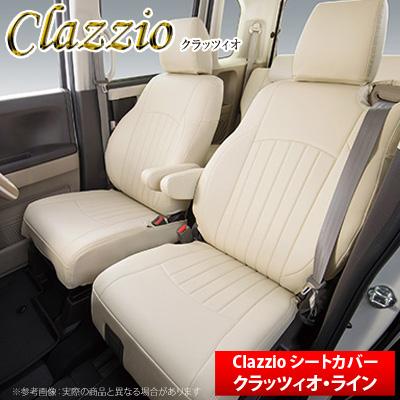 【クラッツィオ Clazzio】ハイエースワゴン TRH214W などにお勧め クラッツィオライン ・ シートカバー 1台分 品番:ET-0106