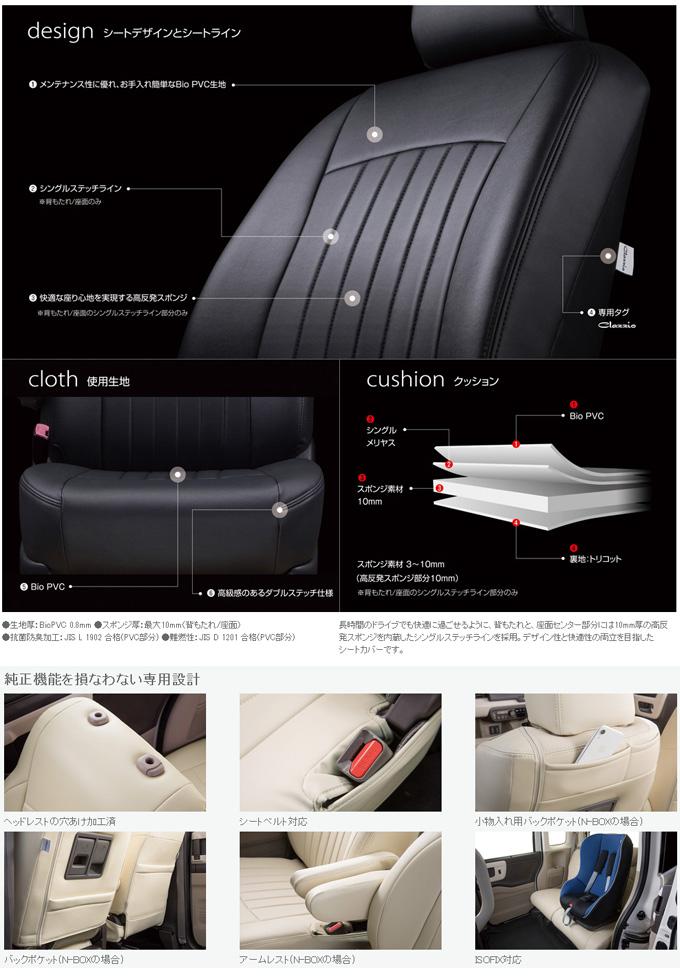 【クラッツィオ Clazzio】アルファード ANH20W / ANH25W / GGH20W / GGH25W などにお勧め クラッツィオライン ・ シートカバー 1台分 品番:ET-1500